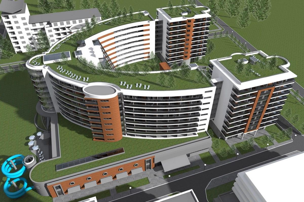 projekt hotelu spa Baltic 02